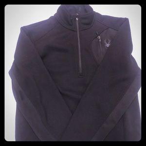 1/4 zip Spyder pullover